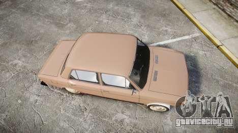 ВАЗ-2106 хулиганский азербайджанский стиль для GTA 4 вид справа