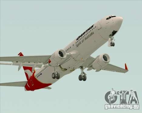 Boeing 737-838 Qantas (Old Colors) для GTA San Andreas