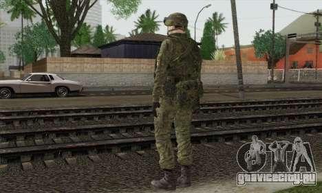 Морской пехотинец СРА для GTA San Andreas второй скриншот