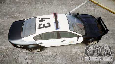 GTA V Cheval Fugitive LS Police [ELS] для GTA 4 вид справа