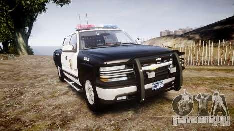 Chevrolet Silverado SWAT [ELS] для GTA 4