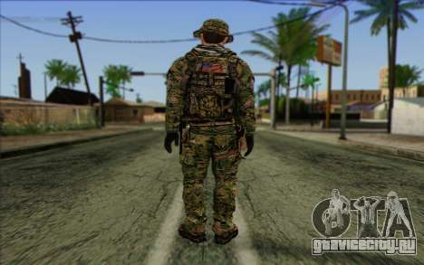 Dusty MOHW from Medal Of Honor Warfighter для GTA San Andreas второй скриншот
