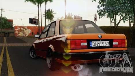 BMW M3 E30 Coupe 1987 для GTA San Andreas вид слева