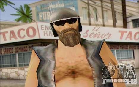 Biker from GTA Vice City Skin 2 для GTA San Andreas третий скриншот