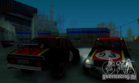 Dacia 1410 Sport для GTA San Andreas вид сбоку