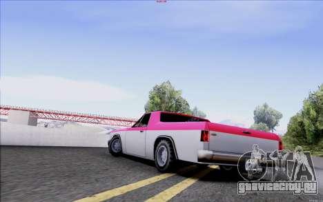 New Picador для GTA San Andreas вид слева