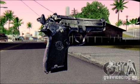 Beretta 92 для GTA San Andreas второй скриншот