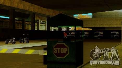 Новый транспорт в LSPD и его оживление для GTA San Andreas седьмой скриншот