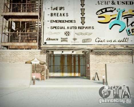 Гараж с новым интерьером в Алкогвине для GTA 4 второй скриншот