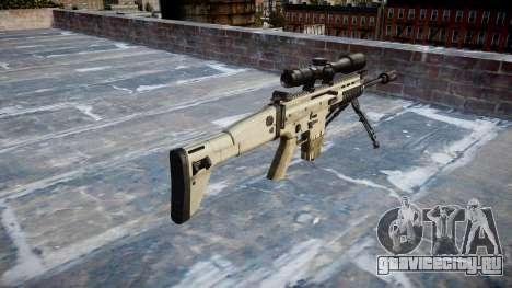 Винтовка Mk 17 SCAR-H bipod для GTA 4 второй скриншот
