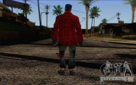 Vagabonds Skin 3 для GTA San Andreas второй скриншот