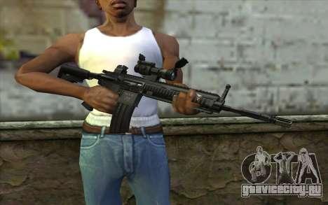 HK416 (Bump mapping) v1 для GTA San Andreas третий скриншот