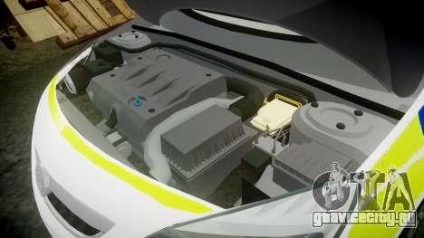 Vauxhall Astra Estate Metropolitan Police [ELS] для GTA 4 вид сбоку