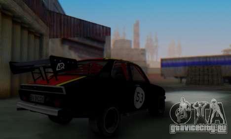 Dacia 1410 Sport для GTA San Andreas вид сзади