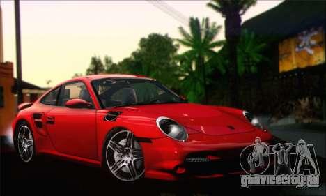 Porsche 997 Turbo Tunable для GTA San Andreas