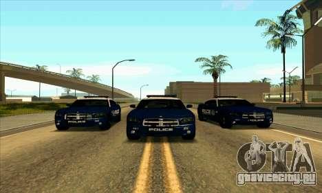 FCPD Dodge Charger SRT8 для GTA San Andreas