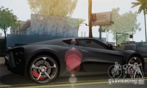 Zenvo ST1 v1.2 Final HD для GTA San Andreas вид слева