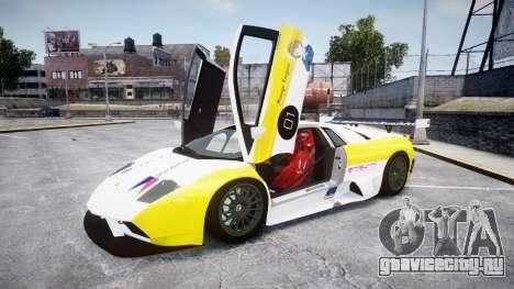 Lamborghini Murcielago GT1 Hanayo Koizumi для GTA 4 вид изнутри