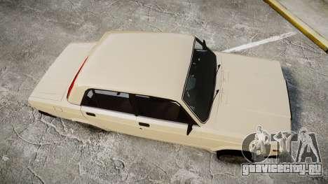 ВАЗ-2107 азербайджанский стиль для GTA 4 вид справа