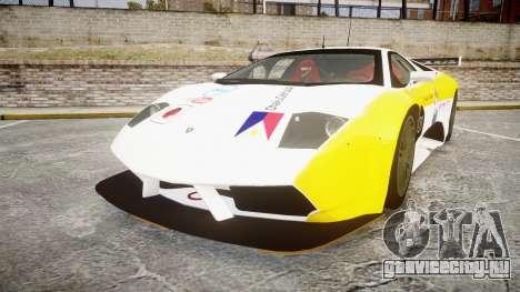 Lamborghini Murcielago GT1 Hanayo Koizumi для GTA 4