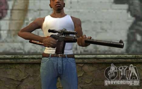 ВСС Винторез для GTA San Andreas третий скриншот