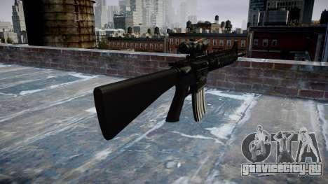 Винтовка M16A4 ACOG для GTA 4 второй скриншот