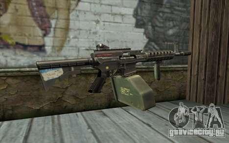 Пулемет Ares Shrike для GTA San Andreas второй скриншот