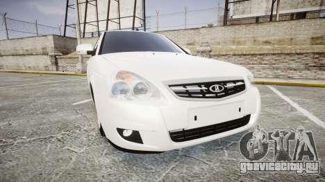 ВАЗ-2170 AMG выхлоп для GTA 4