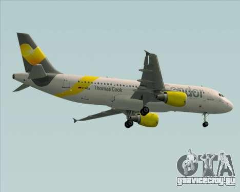 Airbus A320-212 Condor для GTA San Andreas вид сбоку