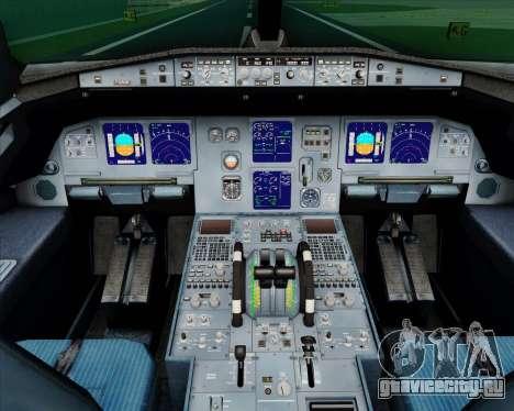 Airbus A321-200 TAP Portugal для GTA San Andreas салон