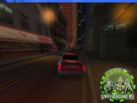 Спидометр HITMAN для GTA San Andreas пятый скриншот