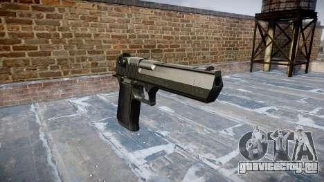 Пистолет IMI Desert Eagle Mk XIX Black для GTA 4
