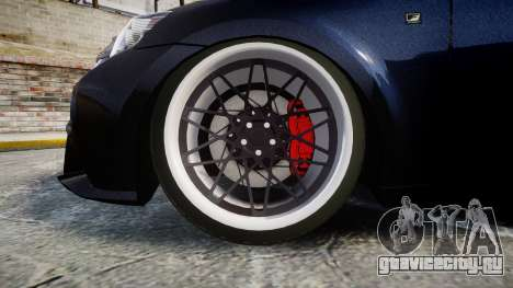 Lexus IS 350 F-Sport для GTA 4 вид сзади