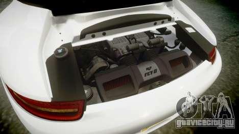 Ruf RGT-8 для GTA 4 вид сверху
