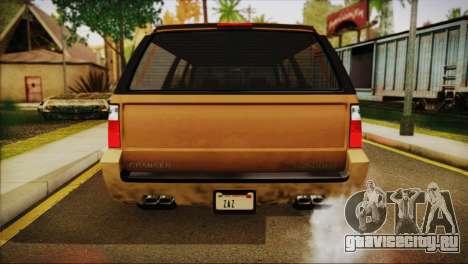 GTA 5 Granger для GTA San Andreas вид справа