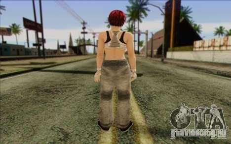 Mila 2Wave from Dead or Alive v12 для GTA San Andreas второй скриншот