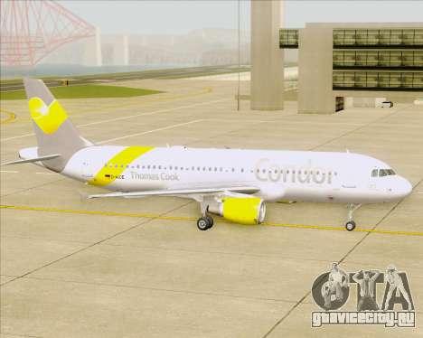 Airbus A320-212 Condor для GTA San Andreas вид сверху