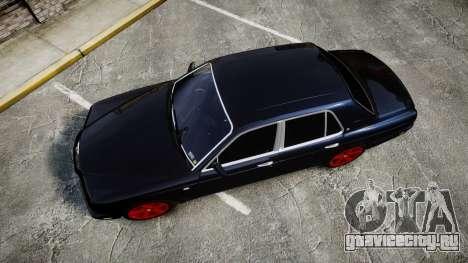 Bentley Arnage T 2005 Rims4 для GTA 4 вид справа