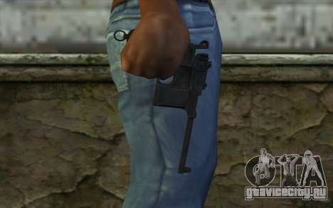 Mauser C96 v2 для GTA San Andreas третий скриншот