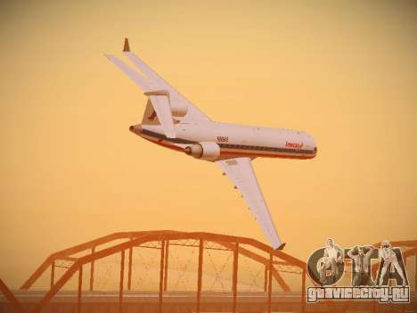 Bombardier CRJ-700 American Eagle для GTA San Andreas салон
