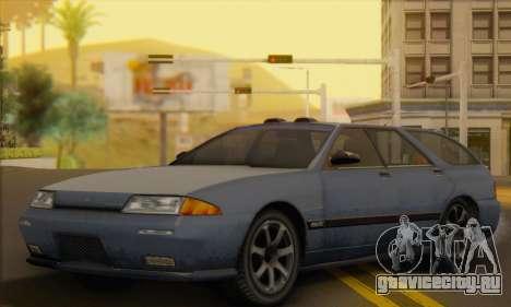 GTA 5 Stratum для GTA San Andreas вид изнутри