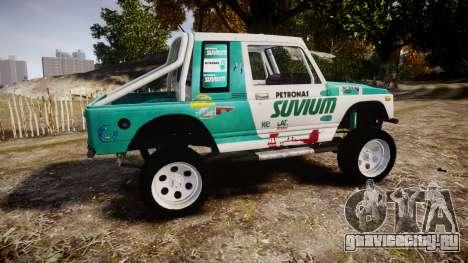 Suzuki Samurai для GTA 4 вид слева