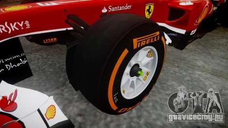 Ferrari F138 v2.0 [RIV] Alonso THD для GTA 4 вид сзади
