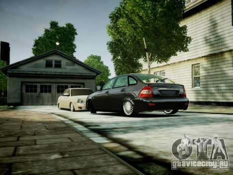 ВАЗ 2172 для GTA 4 вид слева