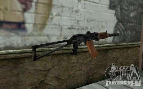 АКС-74У с ПБС-5 для GTA San Andreas второй скриншот