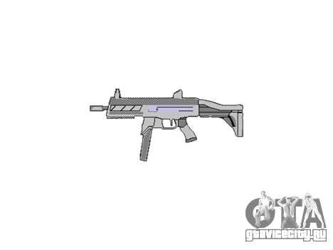 Пистолет-пулемет SMT40 with butt icon3 для GTA 4 третий скриншот