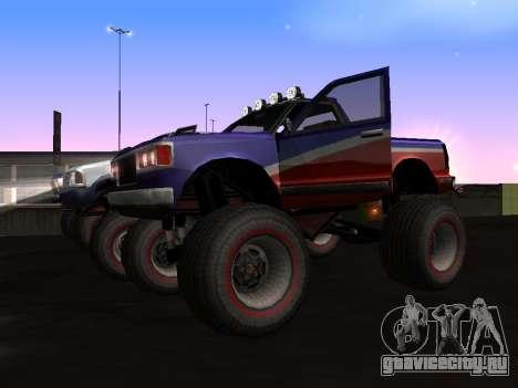 Новые текстуры Monster для GTA San Andreas для GTA San Andreas вид слева
