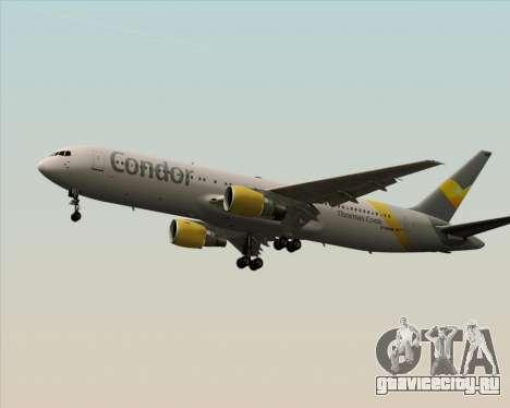 Boeing 767-330ER Condor для GTA San Andreas вид сзади слева