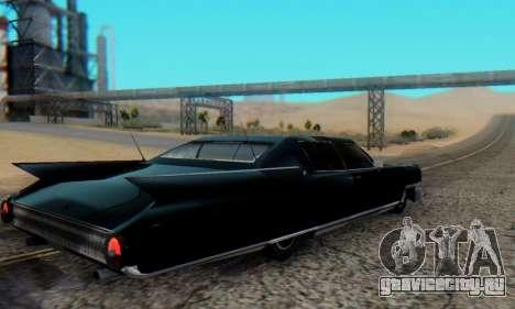Cadillac Stella II для GTA San Andreas вид слева