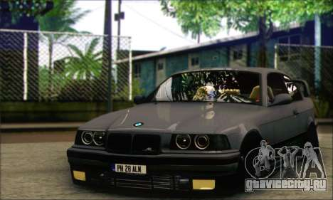 BMW E36 Stanced для GTA San Andreas